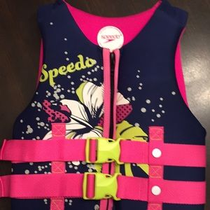 Youth Speedo brand life vest